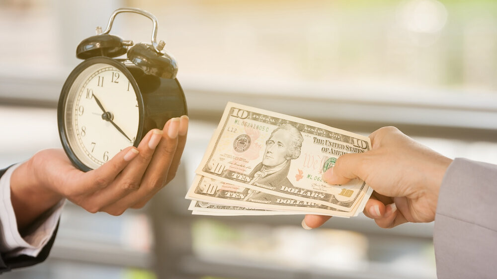 Money and time exchange